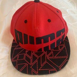 Red Puma Cap